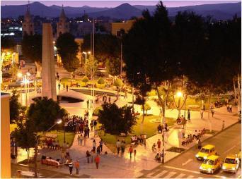 Ica Main square.