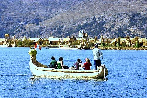 Trip to Amanati island Titicaca Lake