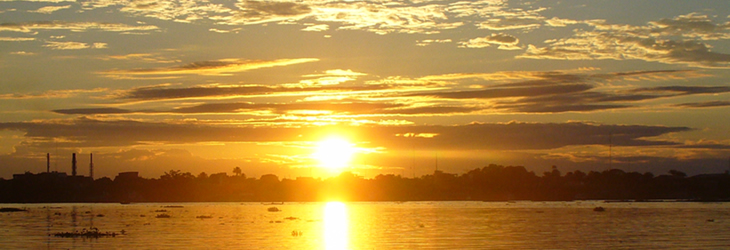 Loreto Iquitos, amazing sunset