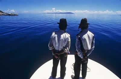 ruta del sol Lago titicaca Puno