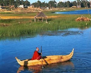 Mythical Titicaca Lake