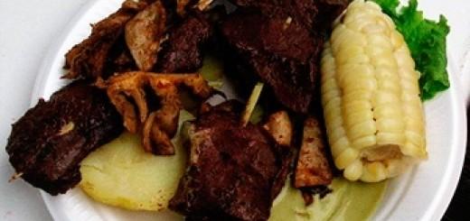 Gastronomia cusqueña, anticuchos de corazon