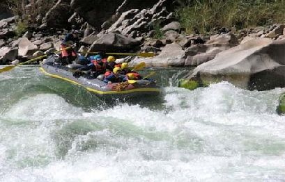 Cusco awaits you - Rafting