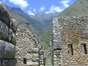 Recinto de Chachabamba, inca trail apacible