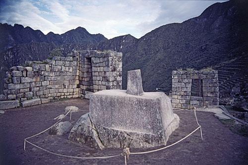 Machu Picchu maravilla del munco moderno, Intihuana