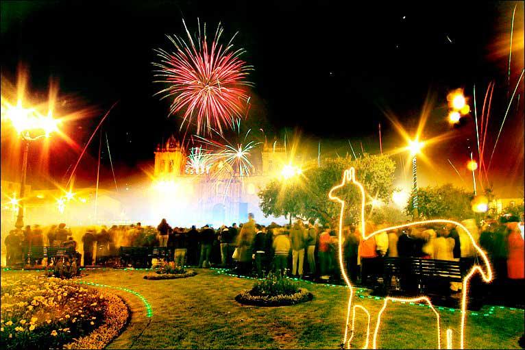 New Year in Cusco