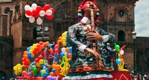 Carnivals in Cusco