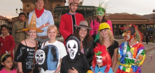 Halloween in Cusco Peru