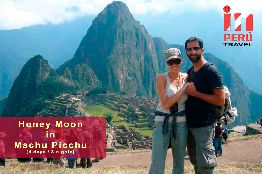 Honey Moon in Machu Picchu