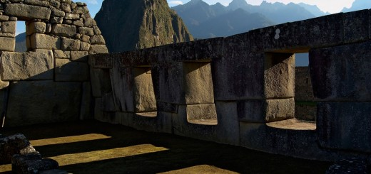 Machu Picchu - Three windows