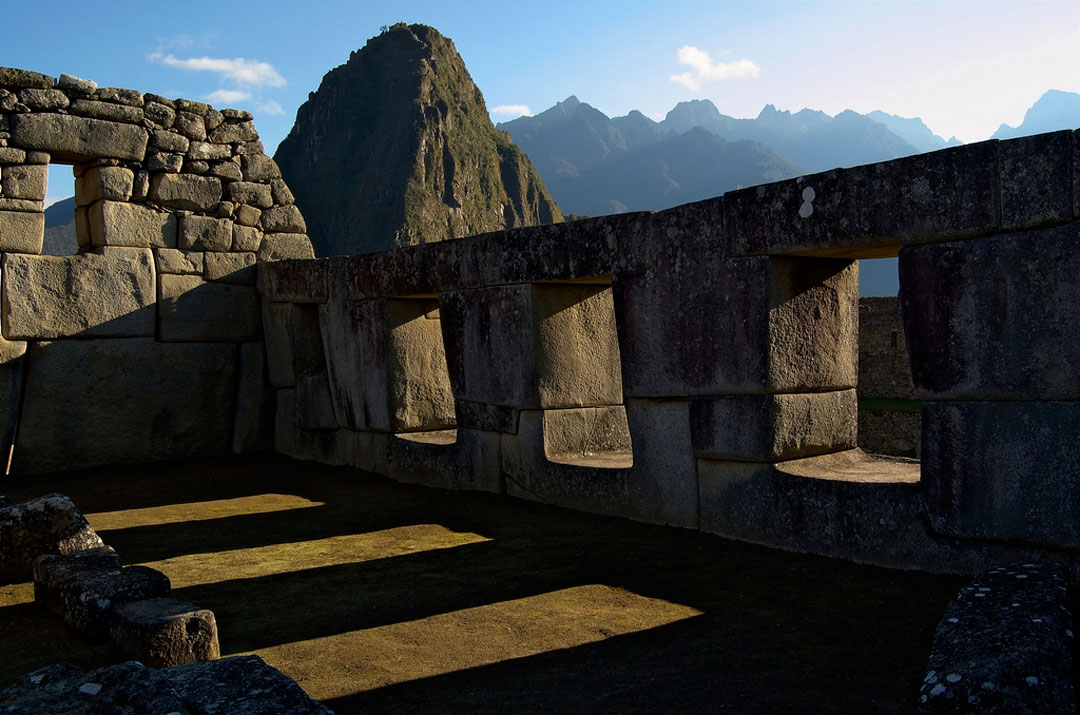 Machu Picchu - Three windows