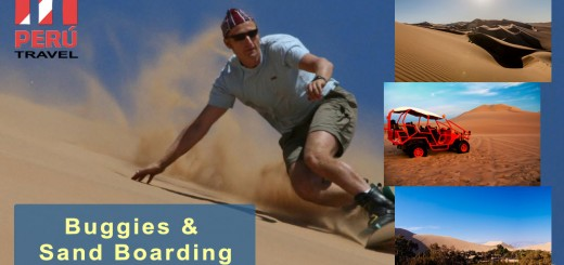 Buggies and Sand Boarding - Huacachina - Ica, Peru