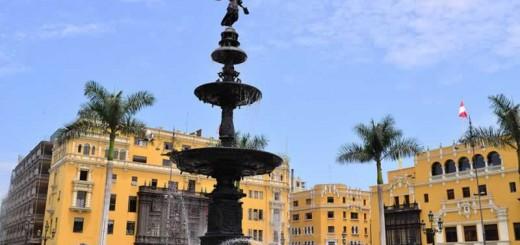 Historical center of Lima