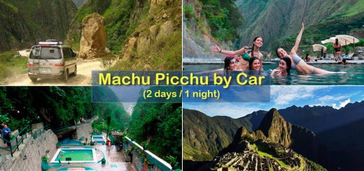 Machu Picchu by car