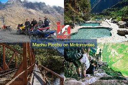 Machu Picchu on Motorcycles