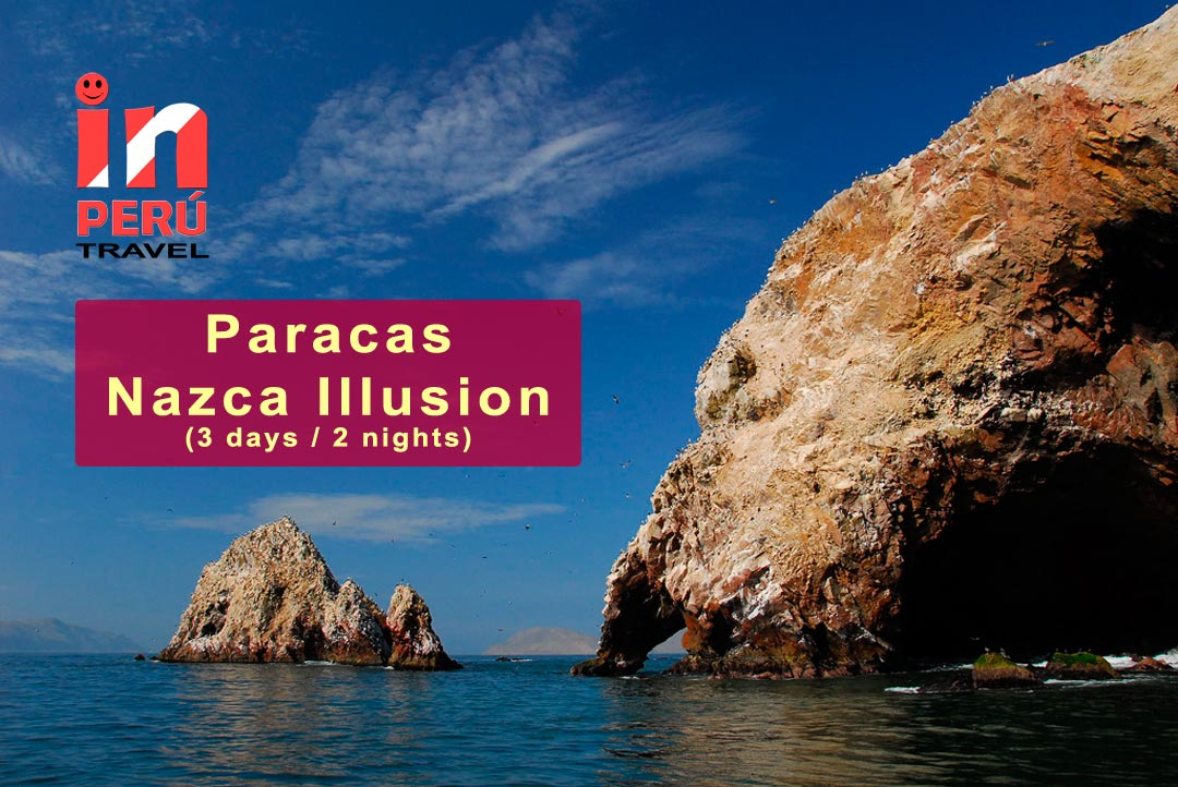 Paracas / Nazca Illusion - Ballestas Islands