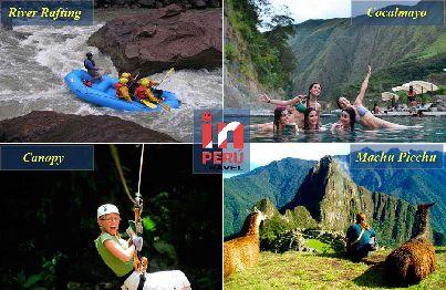 Canopy - Escalade - River Rafting - Machu Picchu