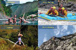 Santa Teresa - Canopy - River Rafting