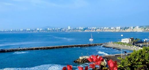 The modern city skyline - Lima - Peru