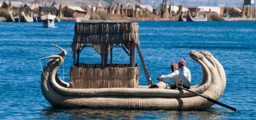 Uros Floating Islands - Titicaca Lake