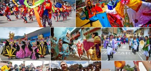 Carnival in Cajamarca, Peru