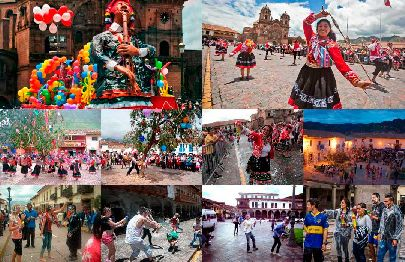 Carnivals in Cusco