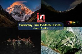 Dynamic Salkantay Trail to Machu Picchu