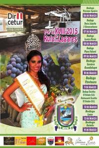 Programa de la Ruta de los Lagares 2015