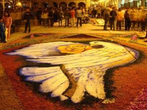 Alfombra de Flores - Semana Santa en Ayacucho