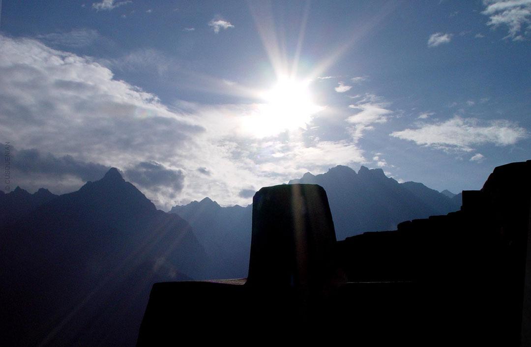 Solsticio en Machu Picchu