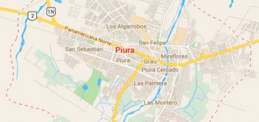 Map of Piura