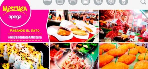 Mistura Apega 2015 / Feria gastronómica