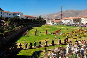 Inti Raymi en el Qorikancha