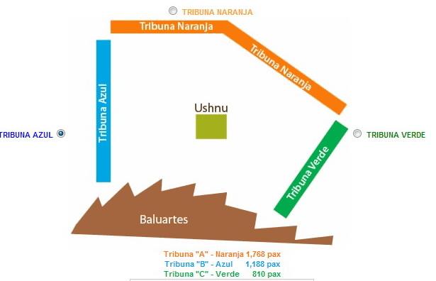 Tribunas Inti Raymi