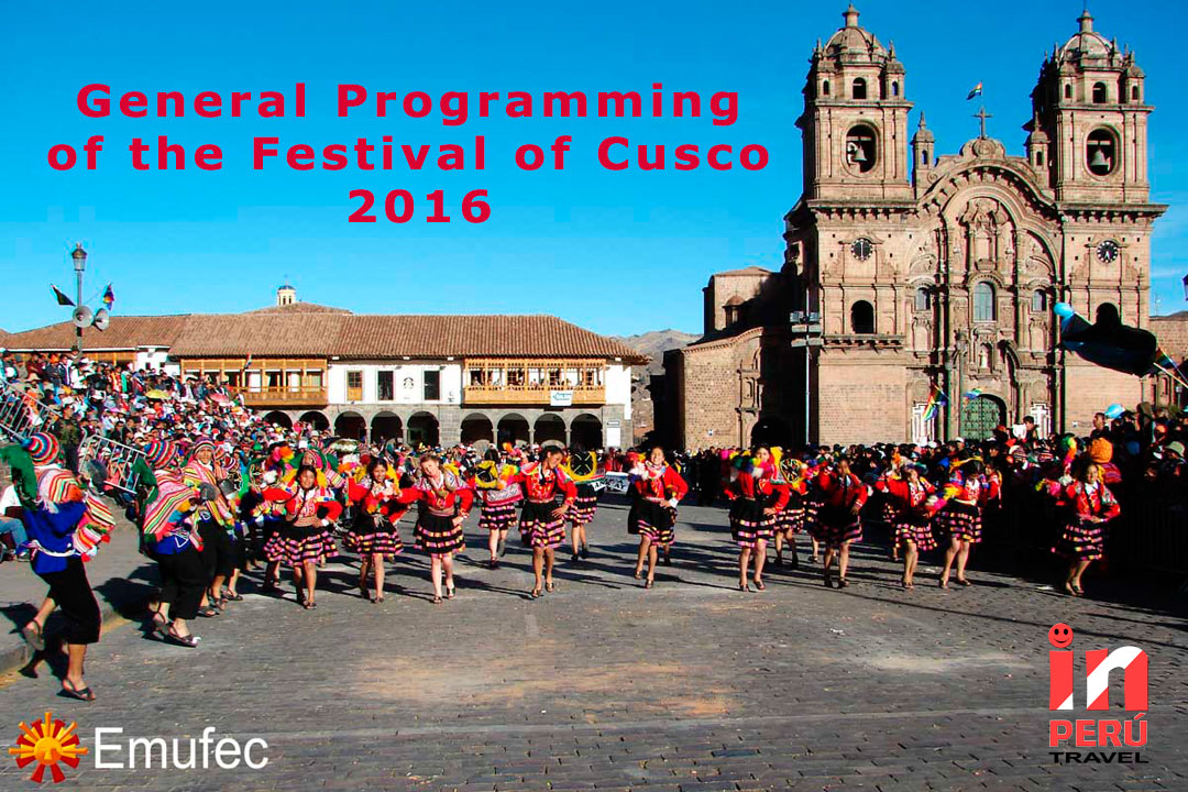 General programming of the Festival of Cusco 2016