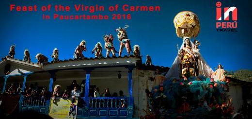 Feast of the Virgin of Carmen in Paucartambo 2016
