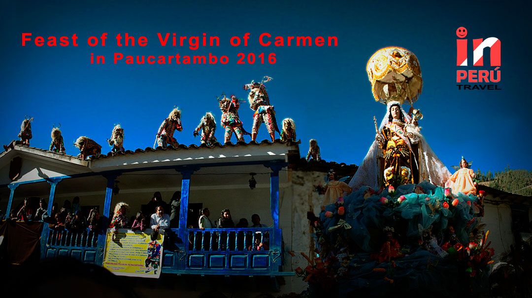 Feast of the Virgin of Carmen in Paucartambo 2016