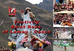 Festivity of Saint Rose in Lamay